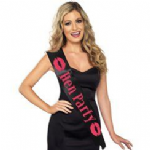 Hen Party Black Sash